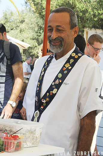 ג'ק חזן נשיא האופים  והקונדיטורים בישראל , צילום: יולה זובריצקי
