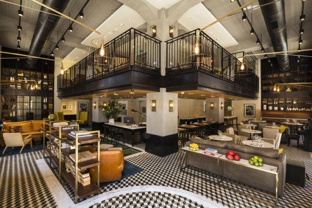 מרקט האוס, המלון החדש ביפו. שוכן בבית אבן משוחזר ברחוב בית האשל שהיה רחוב המלונות ובתי האירוח הראשון של יפו של שלהי המאה ה-19. (צילום: נתן דביר)