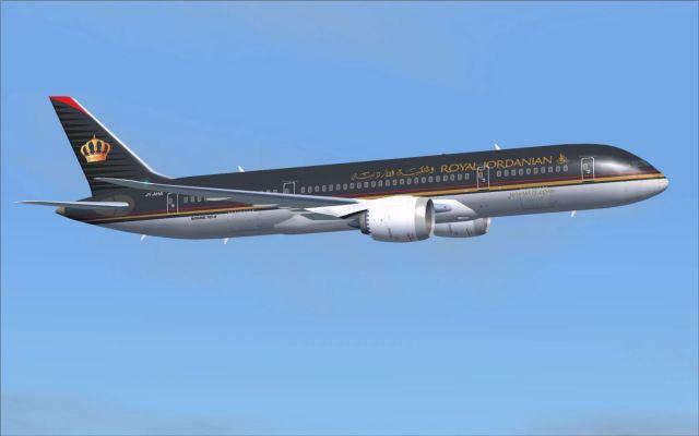 מטוס הדרימליינר החדש של רויאל ג'ורדניאן