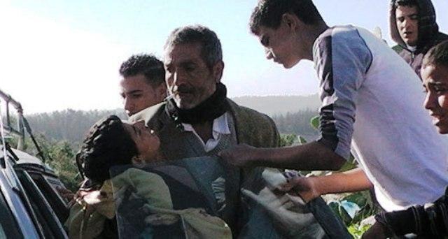 פינויו של סמיר עווד לבית החולים  (צילום: עבד א-נאסר מוראר)