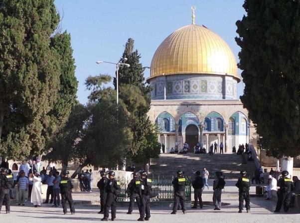 הר הבית - אחת מהנקודות הרגישות ביותר על פני כדור הארץ (צילום ארכיון: משטרת ישראל)