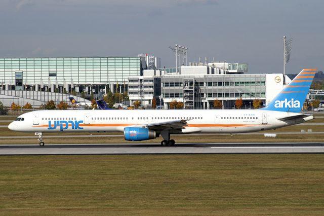 מטוס בואינג 757 של ארקיע. צילום: ויקיפדיה