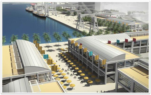 חיפה: הרכבת תשוקע והעיר התחתית תיפתח לים