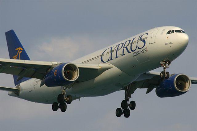 מטוס איירבס A330 של סייפרוס איירווייס. החלטת הסגירה באה בעקבות ההחלטה השלילית של האיחוד האירופי לענייני תחרות