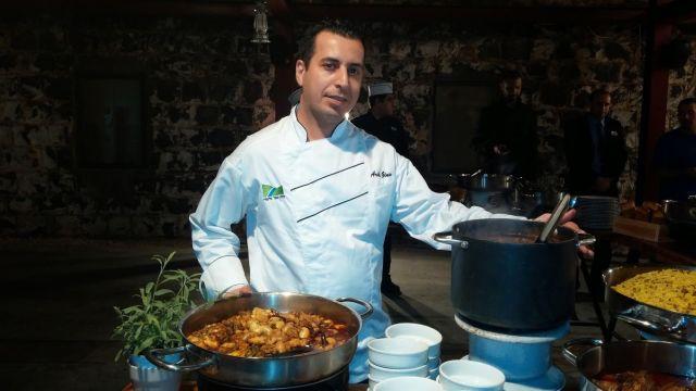 שף אריק ז'ינו. לשמר את הטעם של פעם. (צילום: עירית רוזנבלום)