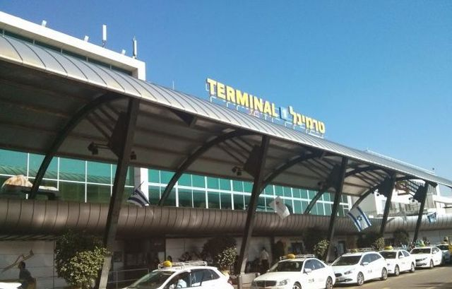 טרמינל 1 ממנו יוצאות טיסות הלואו קוסט שמספרן ומספר התדירויות שלהן גדל משמעותית ב-2014. (צילום: עירית רוזנבלום)
