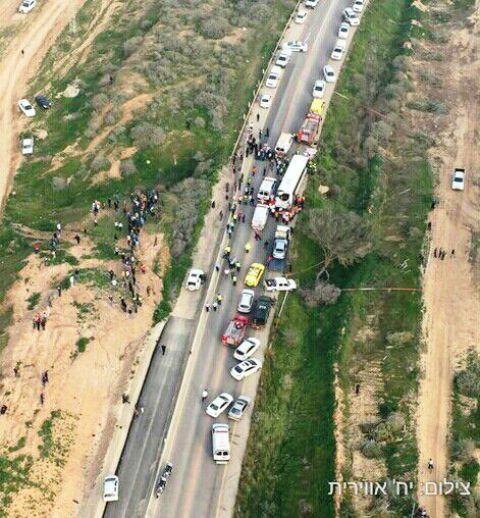 8 הרוגות ו-24 פצועים בתאונה קטלנית בדרום
