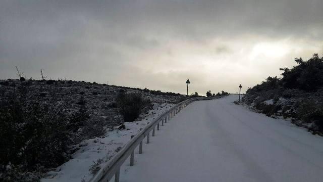 כביש הכניסה לאריאל (צילום: דוברות אריאל)