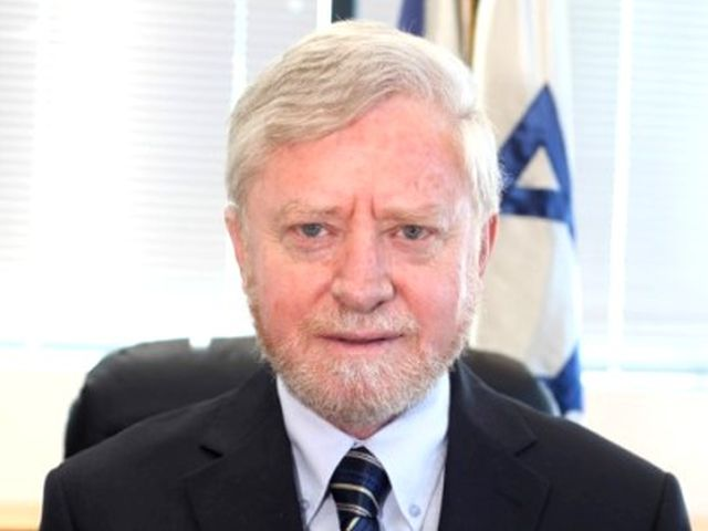 המבקר יוסף חיים שפירא. צילום: יצחק הררי