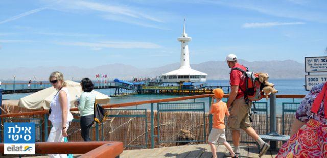 פארק מצפה הימים באילת. העיר אילת משוועת לגידול בכניסות תיירים