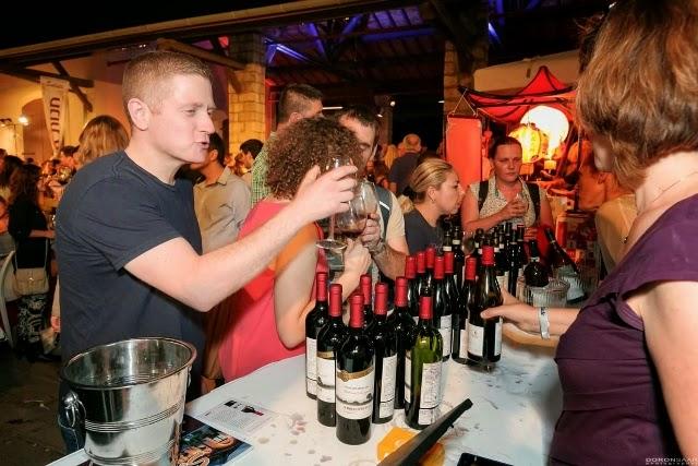 פסטיבל היין Salute בבאר שבע