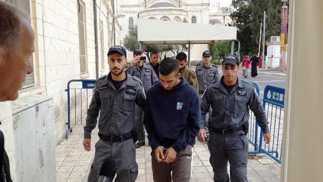 אסרף מובא להארכת מעצר (צילום: דוברות משטרת ישראל)