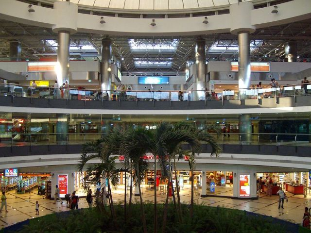 טרמינל 2 בנמל התעופה באנטליה. צילום: נמל התעופה אנטליה