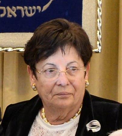 """""""שופטי ישראל ימשיכו לעשות את מלאכתם נאמנה ולא יגורו מפני איש"""". מרים נאור (צילום: ויקיפדיה)"""