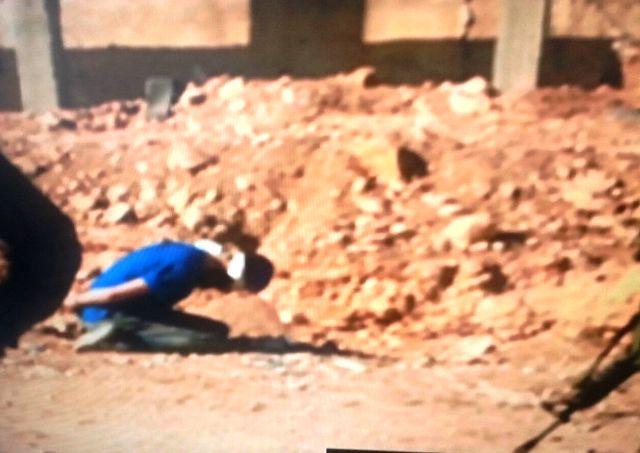 המחבל שנלכד (חדשות 10 צילום מסך)