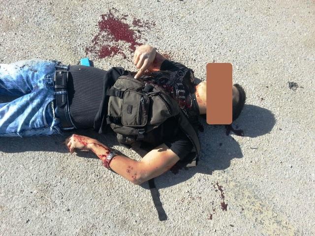 כיכר אדם: שני מחבלים דקרו ישראלית, אחד חוסל והשני נלכד
