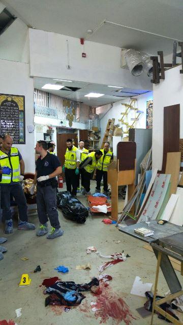 פיגוע דקירה - 2 הרוגים ופצוע קשה בבניין פנורמה בתל אביב