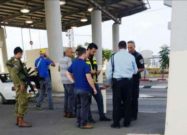 פיגוע שלישי – גבר נדקר בבטנו ליד מעבר אליהו  בסמוך לאלפי מנשה