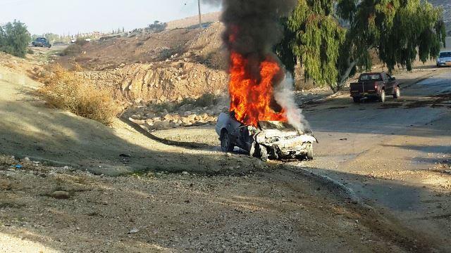 שני הרוגים בתאונה קטלנית בדרום ושריפה גדולה בצפון