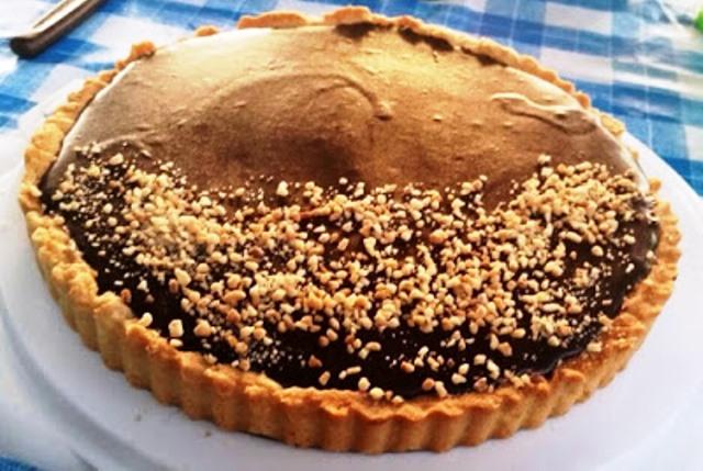 טארט שוקולד מטריפה
