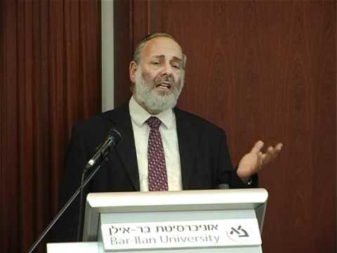 הרב שבתי הכהן רפפורט - ראש המכון לתורה באוניברסיטת בר אילן