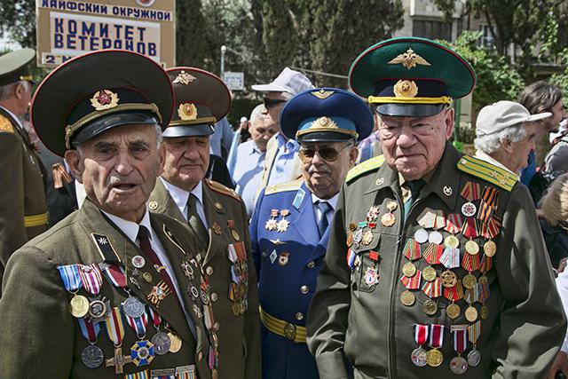 מצעד הווטרנים בירושלים לציון 71 שנה לניצחון על גרמניה הנאצית