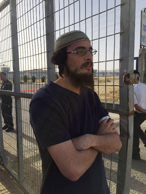 יוצא מהכלא - אטינגר (צילום: באדיבות חוננו)