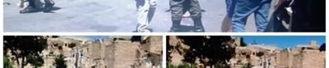 חברון - מתנחל תוקף ובועט בצלם ולא נעצר (צילומי מסך)