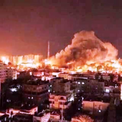 צילום מדף הפייסבוק של Solidarity with Palestine