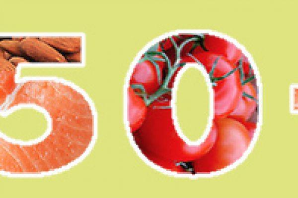 הגעתם לגיל 50? התזונה שלכם צריכה להשתנות