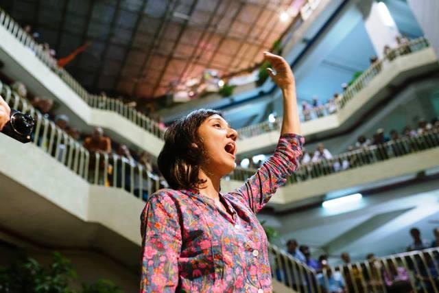 """מחר בימק""""א """"שמע קולי"""" 3 מקהלות משלושת הדתות (צילום באדיבות הפסטיבל)"""