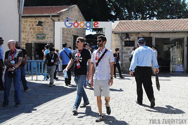 המתחם של גוגל, צילום :יולה זובריצקי