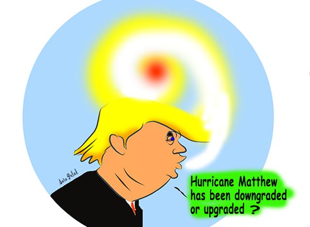 huricane trumpt