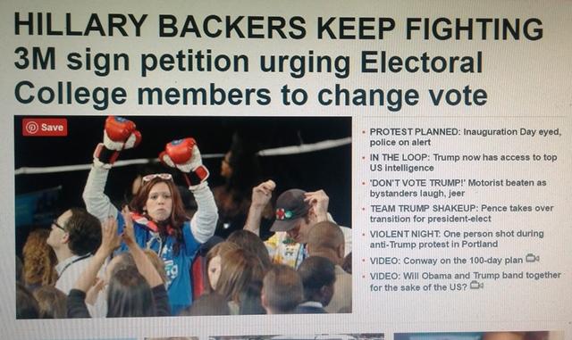 צילום דף החדשות הראשי של Fox news