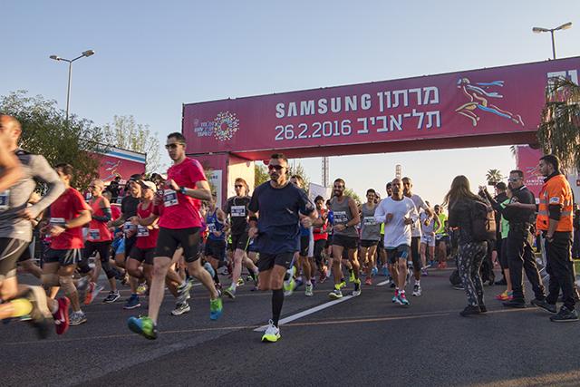 מרתון סמסונג תל-אביב 2017 כבר מעבר לפינה