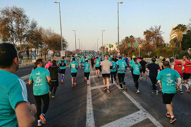 מרתון תל אביב,חגיגה של ספורט