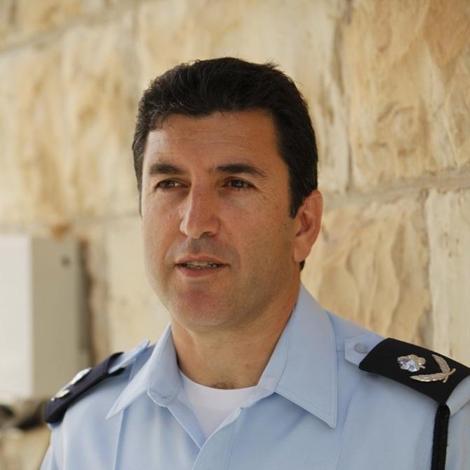 ניצב יורם הלוי מפקד מחוז ירושלים