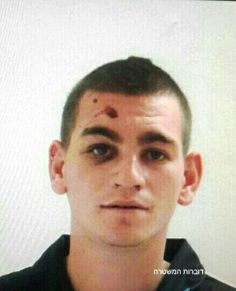 תמונת החשוד (צילום: משטרת ישראל)