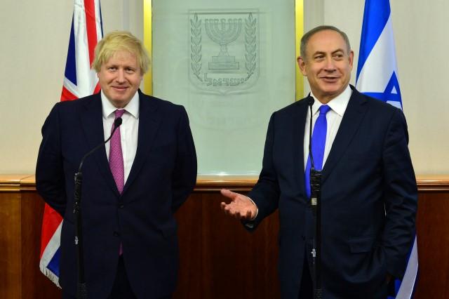פגישת ראש הממשלה בנינמין נתניהו עם שר החוץ הבריטי, בוריס ג