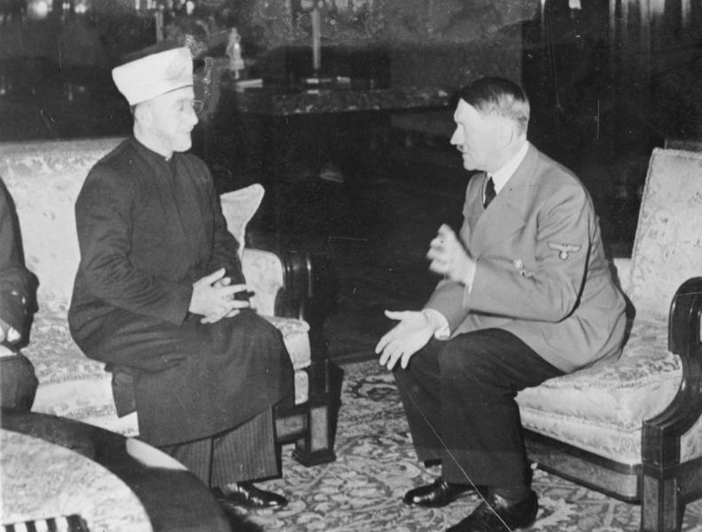 מברק ששלח הימלר למופתי הירושלמי התגלה בספריה הלאומית