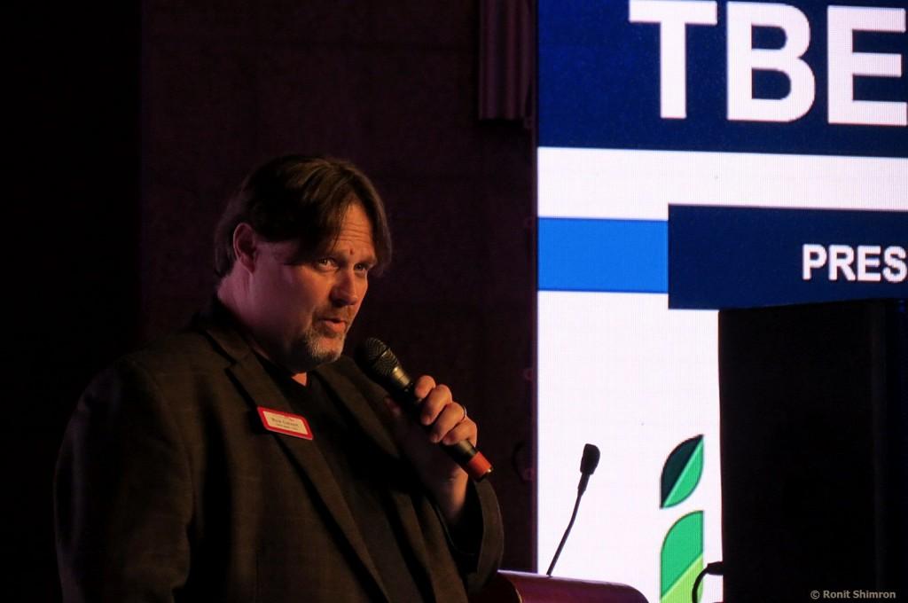 "Rick Calvert - מנכ""ל TBEX בהרצאת הסיום של הכנס בירושלים"