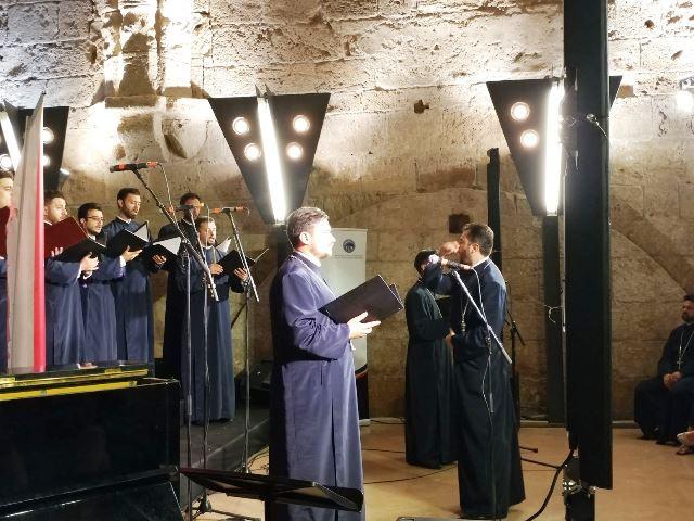 קונצרט כמרים מרומניה (צילום: עליזה גונדור)