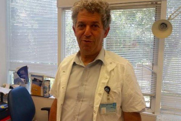 אבחן את התסמונת - פרופ' דוד צגן (צילום: דוברות בית החולים)