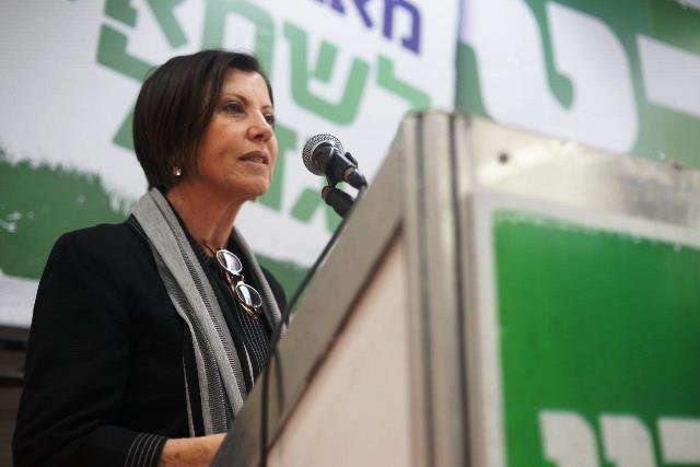 זהבה גלאון (צילום: מרץ)
