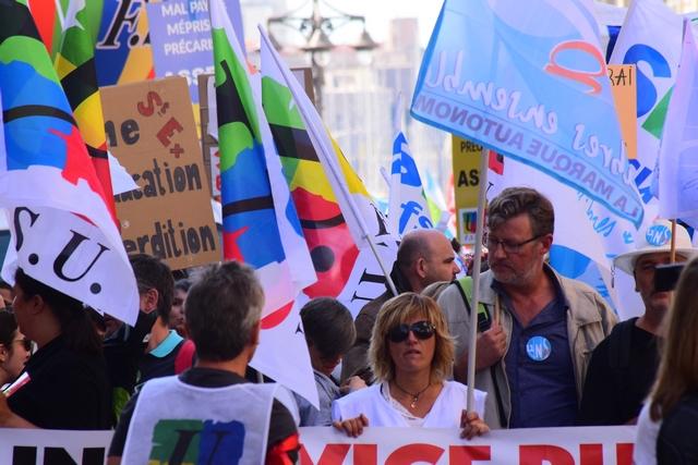 יום שביתה והפגנות שלישי בצרפת