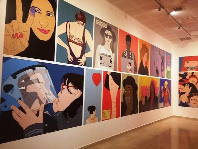 """""""אמנות מסוכנת"""" במוזיאון חיפה"""