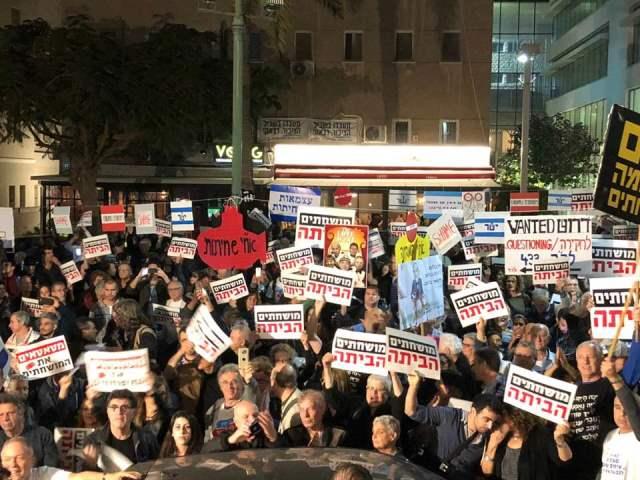 ההפגנה ברוטשילד (צילום: ציפי מנשה)