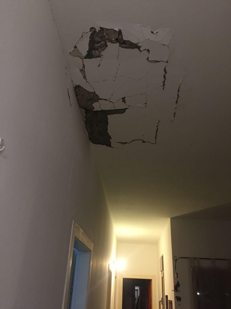 הבית שנפגע (צילום: עדי מאירי דוברות מועצה אשכול)