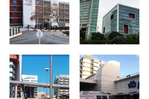 """ארבעת הגדולים משמאל לימין עם כיוון השעון - ברזילי, איכילוב, וולפסון ורמב""""ם"""