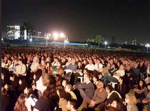 בהשתתפות אלפים נערך הטקס (צילום: פורום משפחות שכולות)